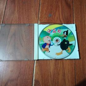 达菲鸭  VCD(1碟装)福建省文艺音像出版社。光盘已检查正常播放【货号:铁2-186】自然旧。正版。详见书影。实物拍照