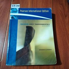 CALCULUS EARLY TRANSCENDENTALS【货号:T19-120】私藏书。正版。详见书影。实物拍照