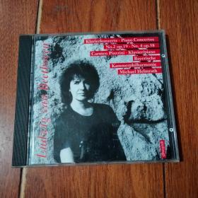 Ludwig van Beetboven  CD(1碟装)光盘已检查正常播放【货号:铁2-179】自然旧。正版。详见书影。实物拍照