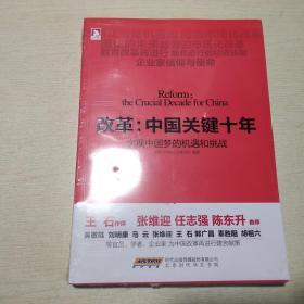 改革中国关键十年:实现中国梦的机遇和挑战 未拆封