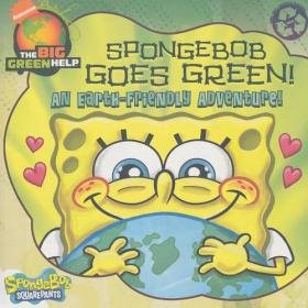 Spongebob Squarepants 88 Picture Book SpongeBob Goes Green! An Earth-Friendly Adventure  海绵宝宝 88 绘本海绵宝宝变绿了!地球友好的冒险