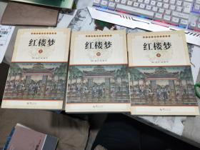 中国古典文学名著丛书:红楼梦(套装上中下册)