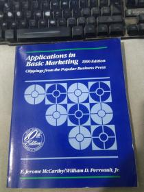 Applications in Basic Marketing 1990 Edition