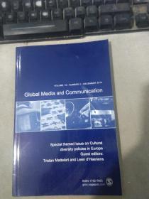 Global Media and Communication VOLUME 10 NUMBER 3 DECEMBER 2014 全球媒体与传播第 10 卷 2014 年 12 月 3 日