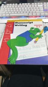 Manuscript Writing GRADES K-2(详见图)