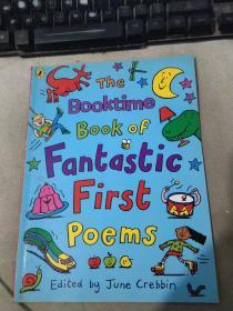 英文原版 The booktime book of fantastic first poems 奇妙的第一本诗歌
