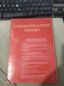 COMMUNICATION THEORY  VOLUME 25 NUMBER 2 MAY 2015 传播理论第 25 卷 2015 年 5 月 2 日