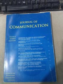 JOURNAL OF COMMUNICATION  VOLUME 63 NUMBER 4 AUGUST 2013 通讯杂志第 63 卷 2013 年 8 月 4 日