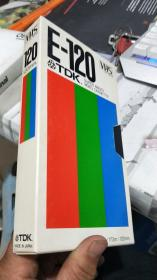 VHS E-120(录像带) 详见图