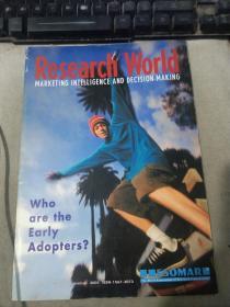 Research World VOLUME 9 NO 11 December 2001 2001 年 12 月 11 日研究世界第 9 卷