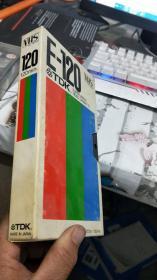 VHS E-120 TDK(录像带) 详见图