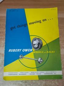 RUBERY OWEN WHEELS AND AXLES鲁贝里欧文车轮和车轴(产品简介)老宣传册