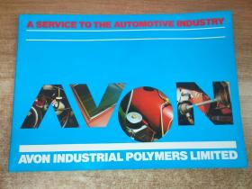 A SERVICE TO THE AUTOMOTIVE INDUSTRY:AVON INDUSTRIAL POLYMERS LIMITED英文原版老汽车方面宣传画册