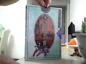 宋词三百首注译 /成涛 注译/大众文艺出版社