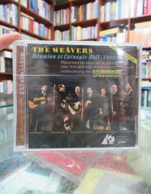 CD:著名的七人美国乡村民谣 the weavers reunion at carnegie hell 1963