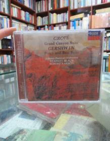 CD:葛罗菲:大峡谷组曲 盖希文:波吉与贝丝组曲 布莱克&伐诺指挥伦敦节庆管弦乐队