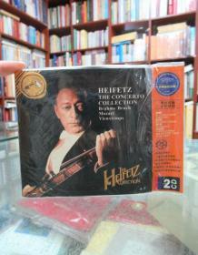 CD:布鲁赫:第一小提琴G小调协奏 维厄当:第五小提琴A小调协奏 莫扎特:降E大调协奏曲 布拉姆斯:大提琴和小提琴协奏曲 威廉 普里姆罗斯/中提琴 海飞兹/小提琴