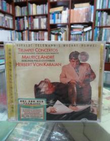 CD:胡梅尔、泰勒曼、莫扎特、维瓦尔弟 小号协奏