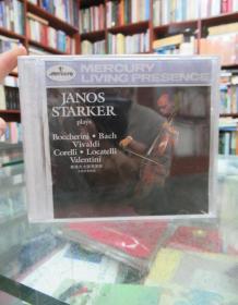 CD:JANOS STARKER·ITALIAN CELLO SONATAS·BACH(斯塔克大提琴演奏大提琴奏鸣曲)