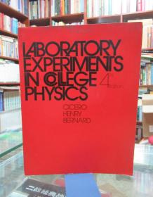 LABORATORY EXPERIMENTS IN COLLEGE PHYSICS (4th edition)