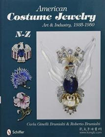 【包邮】American Costume Jewelry: Art & Industry, 1935-1950