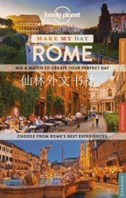 【包邮】Lonely Planet Make My Day Rome