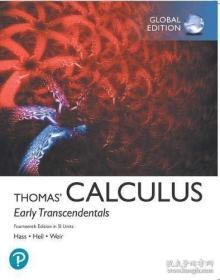 【包邮】Thomas' Calculus: Early Transcendentals in SI Units