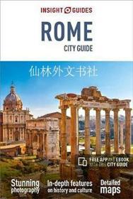 【包邮】Insight Guides City Guide Rome