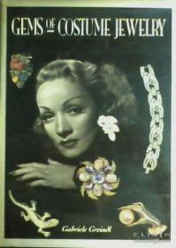 【包邮】Gems of Costume Jewelry /Gabriele Greindl; with an Introduct