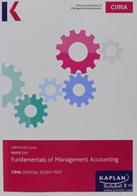 【包邮】C01 Fundamentals of Management Accounting - Study Text