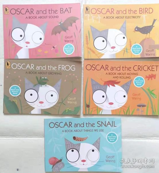 英文原版少儿科普绘本 《OSCAR AND THE ... 》 A Start with Science Book