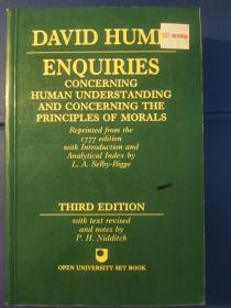 Enquiries Concerning Human Understanding and Concerning The Principles Of Morals: Third Edition