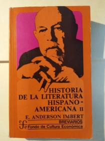 Historia de la litteratura hispanoamericana: II, Época Contemporánea