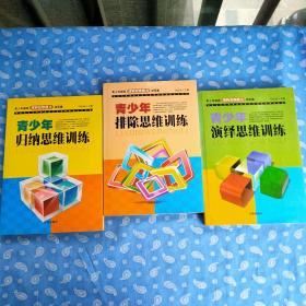 青少年逻辑思维能力训练集 第2版三册全 【每册书名见图  辽海出版社2011二版1印】