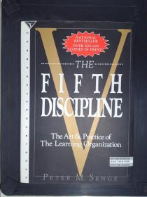 The Fifth Discipline: The Art & Practice of the Learning Organization毛边书(详见图)
