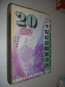 二十世纪中国新诗选