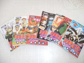火影忍者(卷44、45、46、47、48、49)六本合售 正版