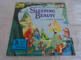 Walt Disney's Story of Sleeping Beauty Told and Sung By Mary Martin 黑胶唱片 唱盘 1张