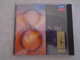 MAHLER 8 SOLTI 1碟CD 马勒