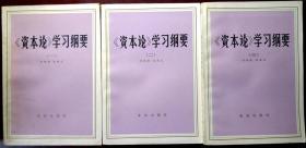 《资本论》学习纲要(全三卷)(1981年一版一印,自藏,品相近十品)
