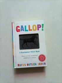 A Scanimation Book: Gallop! 神奇动画书:奔跑