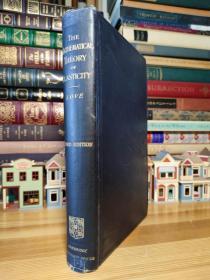 1920年 Love  数学弹性理论经典名著  A treatise on the mathematical theory of elasticity
