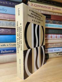 数学弹性理论经典名著 Love的 A treatise on the mathematical theory of elasticity