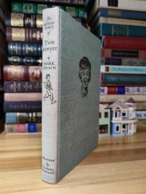 Adventures of Tom Sawyer 马克·吐温 汤姆·索亚历险记  诺曼·洛克威尔插图  Heritage Press