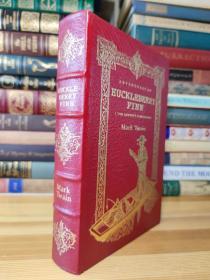 真皮精装收藏版哈克贝利·费恩历险记 The Adventures of Huckleberry Finn  . 100 Greatest Books Ever Written . Collector's Edition
