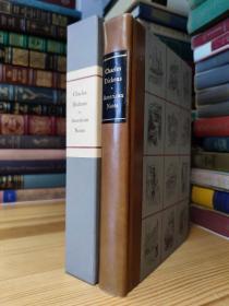 AMERICAN NOTES 狄更斯 美国纪行 The Limited Editions Club 限量2000本 本书编号1990 画家亲笔签名