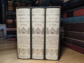 The Book of The Thousand Nights and a Night 一千零一夜  Heritage Press . 6 Volumes in Three Books
