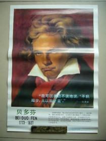 德国著名作曲家贝多芬画像