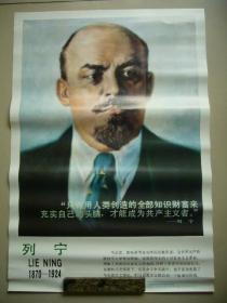 无产阶级的伟大导师列宁画像