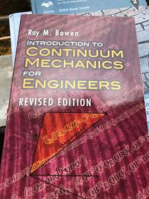 现货(谭) Introduction to Continuum Mechanics for Engineers  英文原版  连续介质力学引论 Bowen著